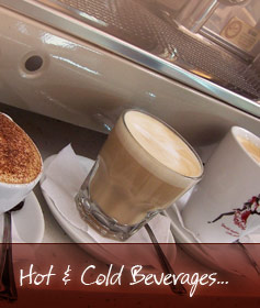 Hot & Cold Beverages